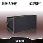 "Dual 15"" Subwoofer high quality Line Array Speaker"
