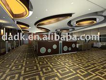 Entertainment places flooring,unique pattern