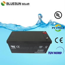 High quality Bluesun agm vrla battery 12v 200ah 10hr and 20hr with ISO CE ROHS UL Certificate