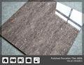 Gris azulejos no suelo antideslizante, porcelanato azulejo pulido