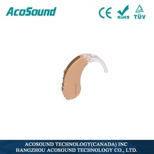 Alibaba AcoSound Acomate 610 BTE High Quality Standard Digital Deaf Manufacture health care product distributors