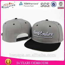 custom snapback cap flat brim custom snap back hats wholesale