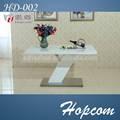 Hopcom 8 cadeiras de jantar mesa com base de metal