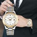 Lujo del movimiento de japón y de la batería del oro elegante reloj de pulsera de moda los relojes mecánicos chino en alibaba de china