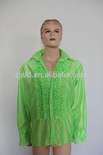 men's frizzle shirt costume disco