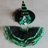 2014 hot sale cute girls halloween witch costume