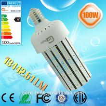 360 degree Emitting High Output high power E40 base 100w led corn light