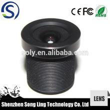 CCTV fixed focus board camera lens contact lens M12 contact lens 2.8mm