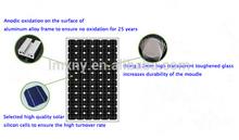 High Quality cheap Price 55W Monocrystalline solar module,panel solar