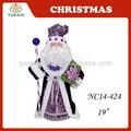 48cm el cuerpo de eva superior del árbol de santa claus con cara de cerámica para preparar 2015 de navidad