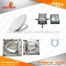 Factory Direct Sales Quality Assurance Toilet Seat Cover Plastic Mould Manufacturer/Mold Manufacturer