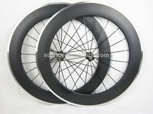 La norme en! Vélo de route 700c 88m jantes en alliage pneu roues carbone chinois