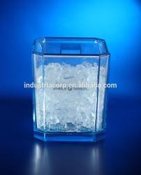 Acrylic unique ice bucket, ice cooler or small ice bucket acrylic