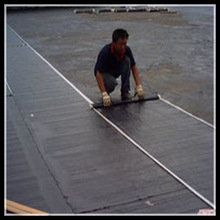 2mm fiberglass and polyester reinforced self-adhesive polymer modified bituminous waterproof membrane roofing membrane