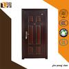 China 6-panel Fireproof steel doors for burglar
