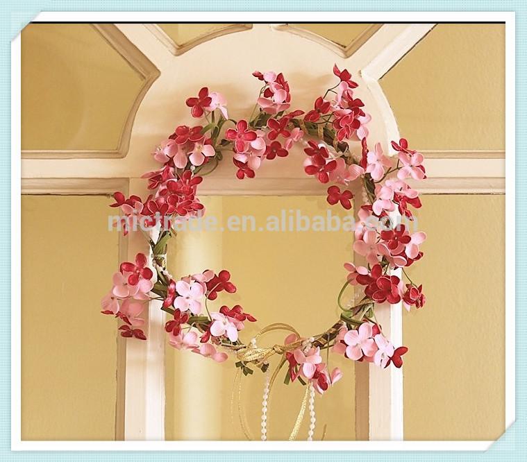 Wedding Flower Crown Suppliers : Red flower head crown artificial wedding bridal