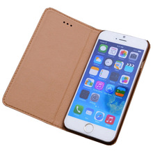 genuine leather flip wallet case cover for Apple iPhone 6s,case for Apple iPhone6s