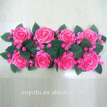 Fashion cheap wholesale decorative artificial fake flower for decoration YZT1-1034