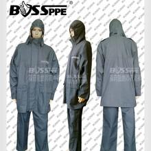 Aramid flame resistant rain jacket FR Rain Breathable Antistatic rainwear,fireproof RainCoat