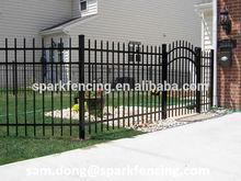 2014 high-qualtiy safety fence designs /metal fence post