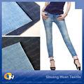 Sh-w044 10oz tc/cvc lycra tecido denim jeans