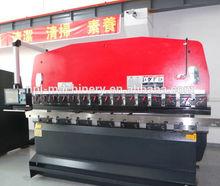 Hydraulic sheet metal press brake bending machinery