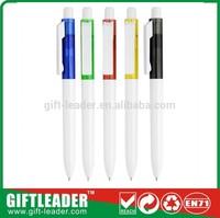 2014 plastic cheap promotional ball pen/promotional pen XSGP-1127