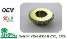 OEM Cylindrical Toothing Straight Tooth Gear by Electro plating