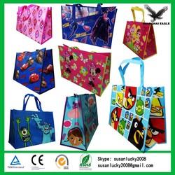 Lamination non woven reusable folding shopping bag