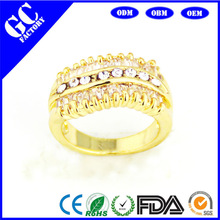 Gold-plated ring 2014 fashion wholesale high quality factory man ring