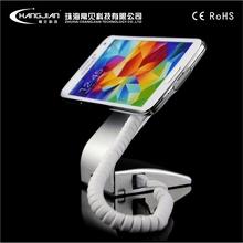 Retail shop display silvery mobile phone alarm