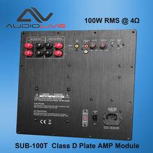 SUB-1000T 1000W CLASS D active speaker amplifier module power digital amplifier module