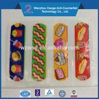 Custom medical environmental-protection adhesive band aid & cartoon kids first aid bandage