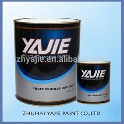 Mud Yellow Car refinish Paint YJ-2K-5012