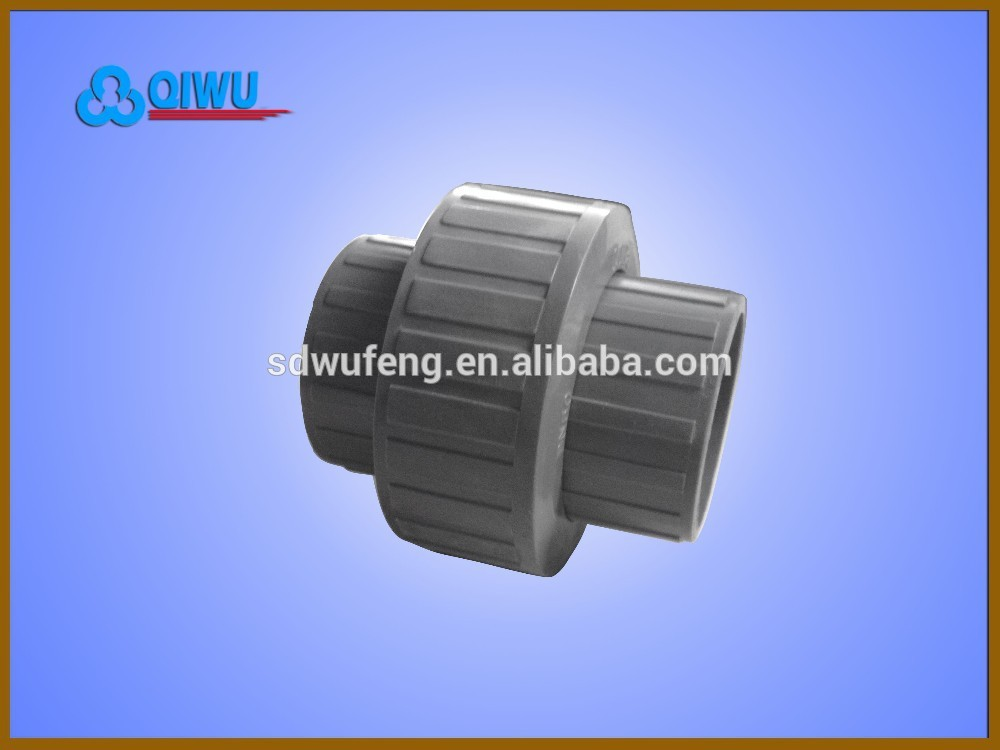 Plastic UPVC Female loose joint pipe union for water supply, View ...