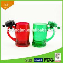 Fashion Design Colourful Glass Bell Mug