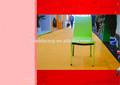 Completo cubierto de cuero apilable silla de comedor para la venta