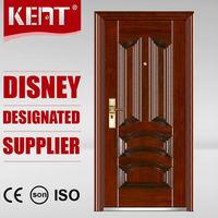 Top KENT DOOR Iron Gate Door Prices/ Wrought Iron Entry Door/ Steel Door