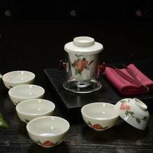 Brand new crystal tea set chinese tea newest porcelain japanese porcelain tea setunique top grade gifts