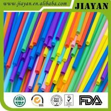 yiwu jiayan eco-friendly hard plastic drinking straw