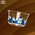Pp w2-a100-p 3oz 100ml desechables de plástico taza de yogur