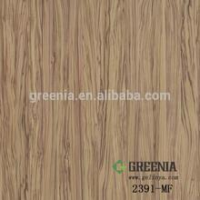 Oiled Olivewood woodgrain decorative Laminate HPL