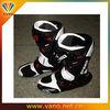 Leather motorcycle racing boot