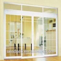 plastic-grids-for-doors/plastic grids for doors/Factory offer OEM 60 mm upvc casement window and doors