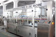 bottled juice washing filling capping machine