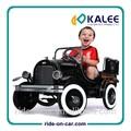 clásico de los niños de coche de metal de lujo los niños paseo en coche de pedales paseo en el juguete