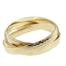 wholesale alibaba L'oreal promotional jewelry gold alloy wrap bracelet made in china