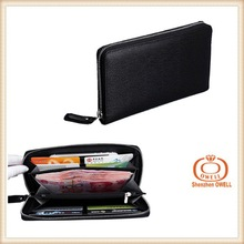 Custom Sheepskin Classic Top Quality Men Purse Genuine Leather Mens Wallet