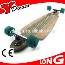 41x9.5 inch Complete 7 ply Canada Maple Longboard Skateboard (CE Certificate)