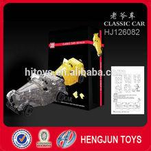educational toys 3D crystal model toys, DIY classic car models toys, 3d puzzle toys